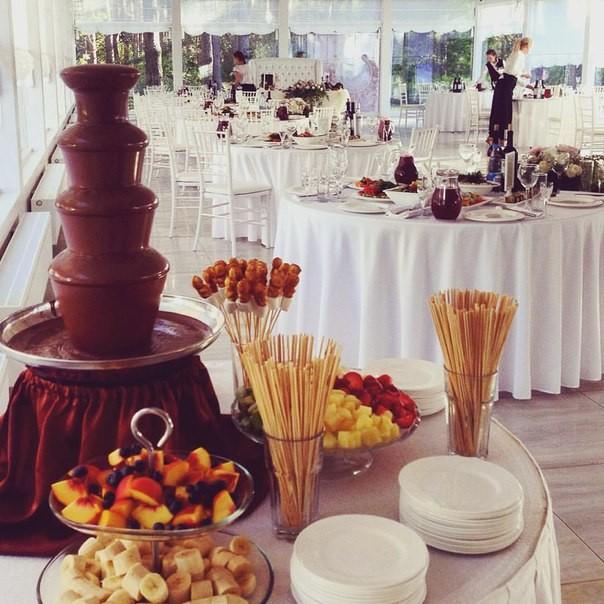 фото шоколадные фонтаны
