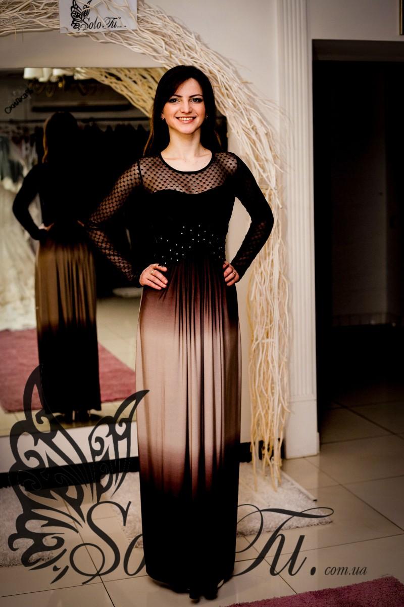 Омбре платье стиль