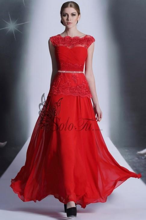 Фото красных длинных платьев
